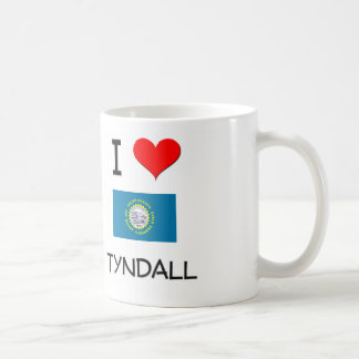 I Love Tyndall South Dakota Coffee Mug