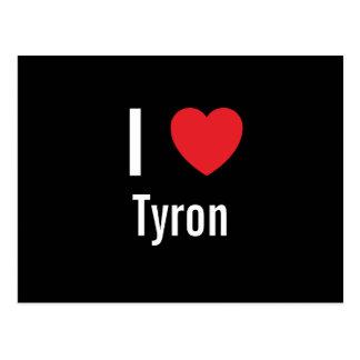 I love Tyron Postcards