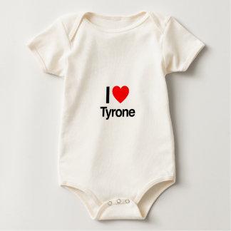 i love tyrone baby bodysuit