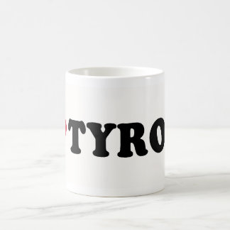 I LOVE TYRONE CLASSIC WHITE COFFEE MUG