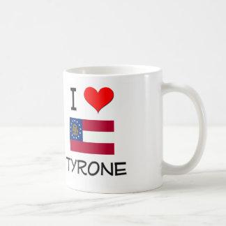 I Love TYRONE Georgia Classic White Coffee Mug