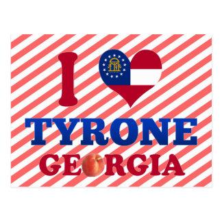 I Love Tyrone, Georgia Post Card