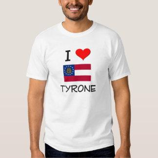 I Love TYRONE Georgia T-shirts