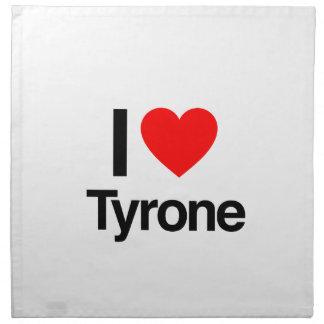 i love tyrone napkin