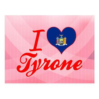 I Love Tyrone, New York Postcards