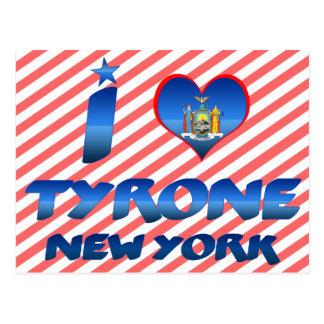 I love Tyrone, New York Post Cards