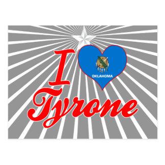 I Love Tyrone, Oklahoma Post Card