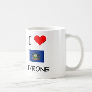 I Love Tyrone Pennsylvania Classic White Coffee Mug