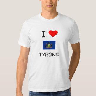 I Love Tyrone Pennsylvania Tees