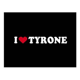 I LOVE TYRONE POSTCARDS