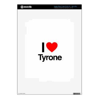 i love tyrone skins for iPad 3