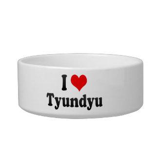 I Love Tyundyu, Korea Cat Water Bowl
