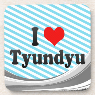 I Love Tyundyu, Korea Drink Coaster
