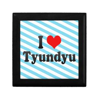 I Love Tyundyu, Korea Jewelry Box