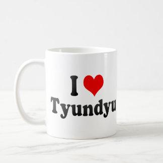 I Love Tyundyu, Korea Mug