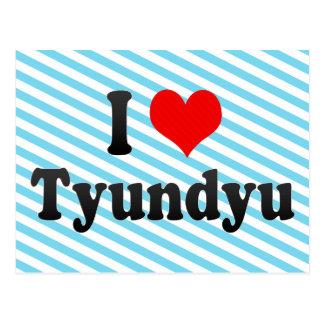 I Love Tyundyu, Korea Postcard