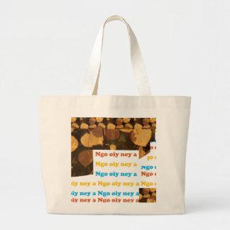 I LOVE U: CANTONESE CHINA Language Culture Chinese Tote Bags
