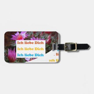 i love U :GERMAN LANGUAGE CULTURE ARTS Tags For Bags
