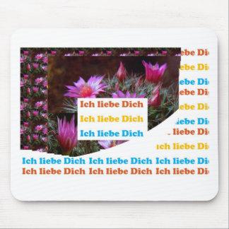 i love U :GERMAN LANGUAGE CULTURE ARTS Mouse Pads