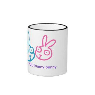 I Love U Hunny Bunny Mug