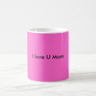 I love U Mom Magic Mug