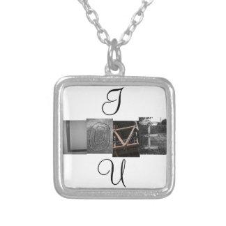 I LOVE U Necklace