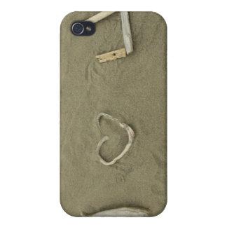 I love U on the beach iPhone 4/4S Case