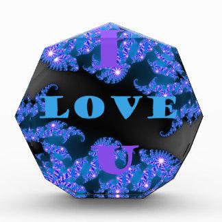 I Love U.png Acrylic Award