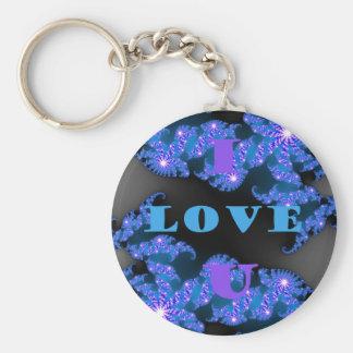 I Love U.png Keychain