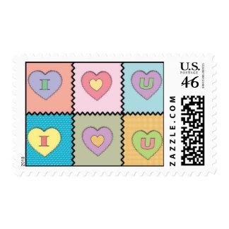 I-Love-U-Quilt2 Postage
