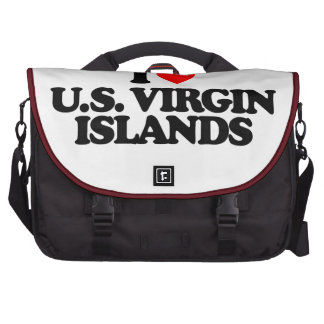 I LOVE U.S. VIRGIN ISLANDS COMMUTER BAGS