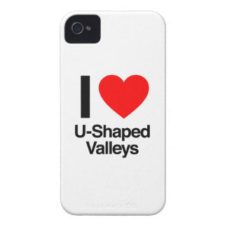 i love u-shaped valleys iPhone 4 cover