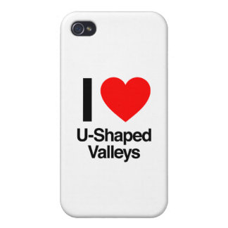i love u-shaped valleys cover for iPhone 4