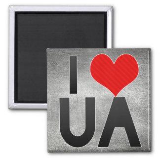 I Love UA Magnet