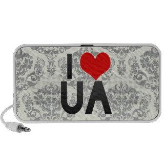 I Love UA Travel Speakers
