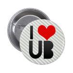 I Love UB Button
