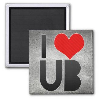 I Love UB Fridge Magnets