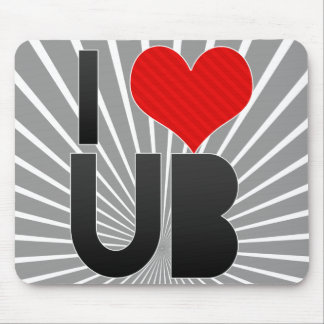 I Love UB Mouse Pad