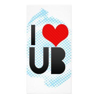 I Love UB Photo Card
