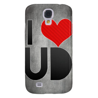 I Love UD Galaxy S4 Cases