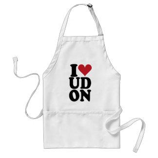 I-Love-UDON Adult Apron