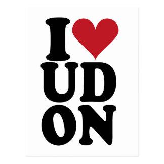 I-Love-UDON Postcard