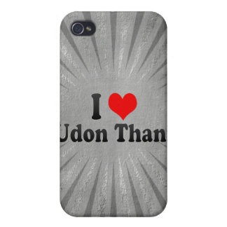 I Love Udon Thani, Thailand iPhone 4/4S Case