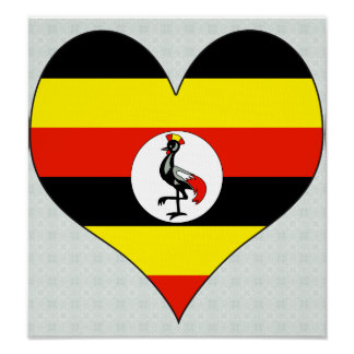 I Love Uganda Poster