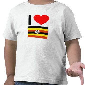 i love uganda tee shirt