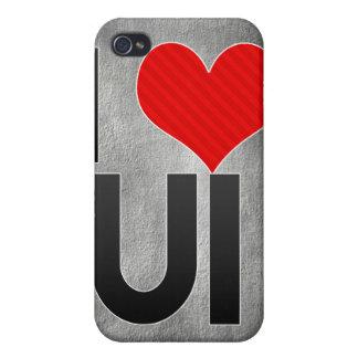 I Love UI iPhone 4/4S Case