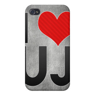 I Love UJ Case For iPhone 4