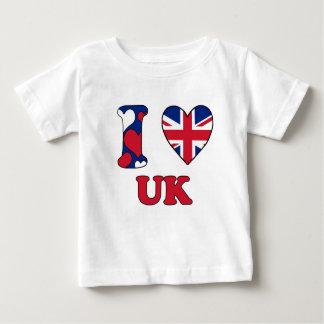 I love UK Baby T-Shirt
