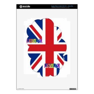 I LOVE UK iPad 3 SKIN