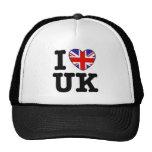 I Love UK Mesh Hat